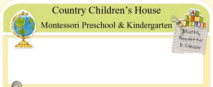 Country Children's House Montessori Preschool & Kindergarten located in Noblesville, Indiana near Carmel and Fishers
